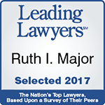 Leading Lawyers Ruth l. Major selected 2017